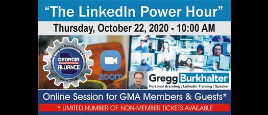 """The LinkedIn Power Hour"" - Presentation by Gregg Burkhalter"